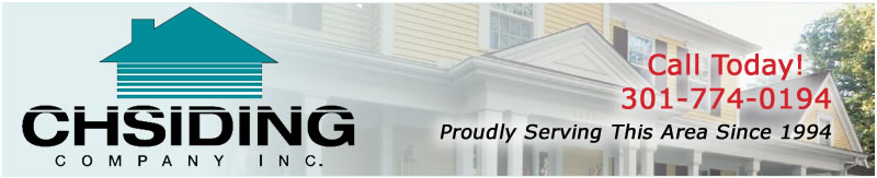 CH Siding Company, Inc. located in Maryland specializes in many home improvement services. Our specialties include: vinyl and fiber cement siding installation, roofing, replacement window installation, decking, and gutters.