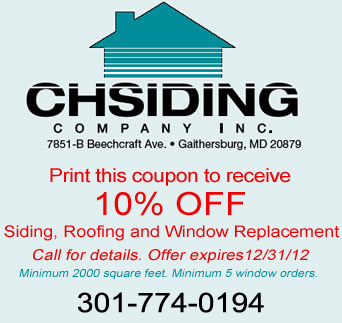 CH Siding home improvement special